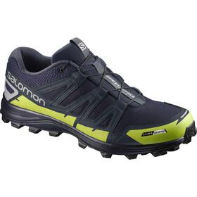 Salomon Unisex Speedspike CS Shoes Navy Blazer/Reflective Silver/Lime Punch